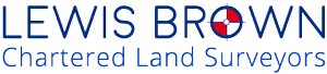 Lewis Brown Chartered Land Surveyors Logo