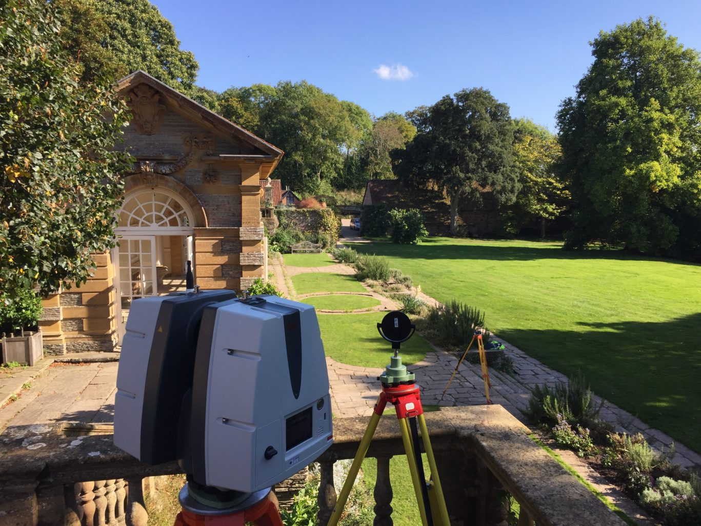 laser scanning lewis brown land surveying project management